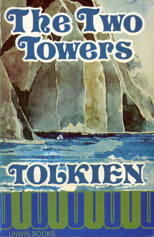 Cover, The Two Towers (Goodreads)