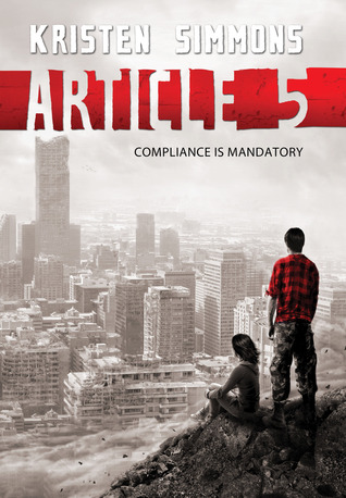 Ebook Article 5 by Kristen Simmons PDF!