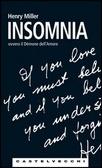 Insomnia ovvero il demone dell'amore