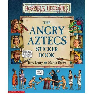 The Angry Aztecs Sticker Book