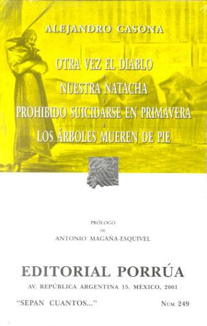 Otra vez el Diablo. Nuestra Natacha. Prohibido suicidarse en ... by Alejandro Casona