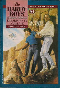 Breakdown in Axeblade (Hardy Boys, #94)