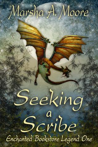 Seeking a Scribe(Enchanted Bookstore Legend 1)