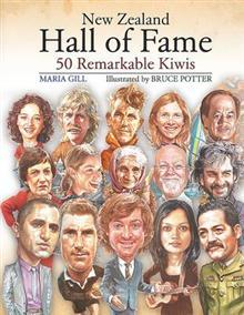 Ebook New Zealand Hall of Fame: 50 Remarkable Kiwis by Maria Gill read!