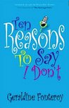 10 Reasons to Say I Don´t