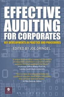 Effective Auditing For Corporates: Key Developments in Practice and Procedures