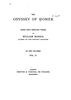 The Odyssey of Homer: Done into English Verse (vol. ii)