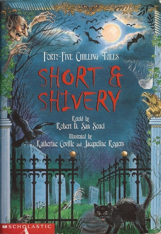 a terrifying taste of short and shivery coville katherine san souci robert d