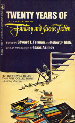 Twenty Years of the Magazine of Fantasy and Science Fiction