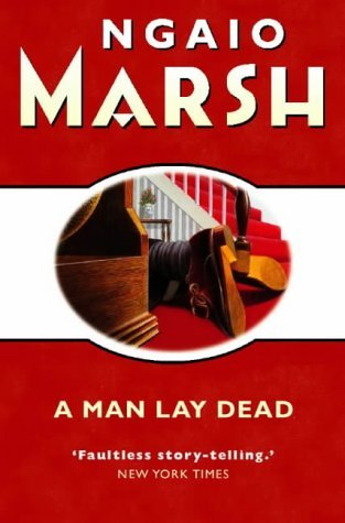A Man Lay Dead book cover