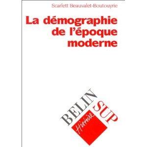 La démographie à l'époque moderne