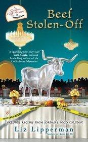 Beef Stolen-Off (A Clueless Cook Mystery, #2)