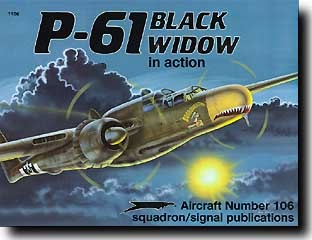Image result for p 61 black widow in action