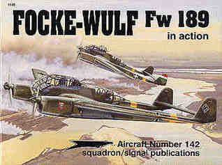 Focke-Wulf Fw 189 in action - Aircraft No. 142