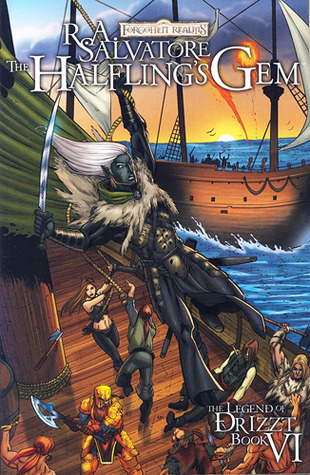 The Halfling's Gem: The Graphic Novel (Legend of Drizzt: The Graphic Novel, #6)