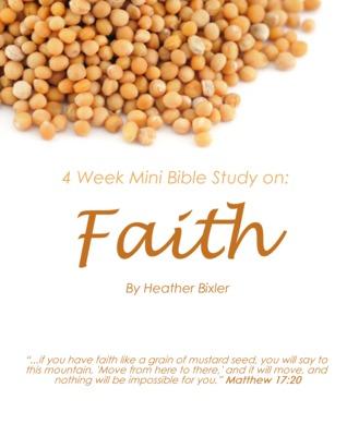 faith-four-week-mini-bible-study