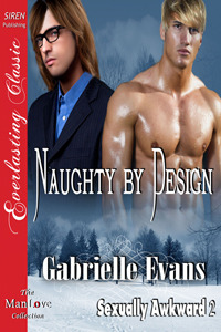Naughty by Design by Gabrielle Evans