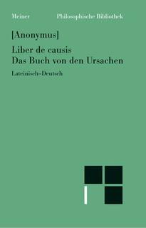 Das Buch von den Ursachen: Liber de causis