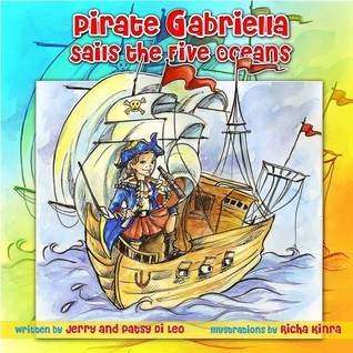 Pirate Gabriella Sails The Five Oceans By Jerry Di Leo - Five oceans