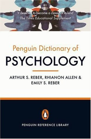The Penguin Dictionary of Psychology (Penguin Reference)