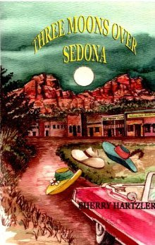 Three Moons Over Sedona by Sherry Hartzler