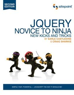 JQuery, Novice to Ninja