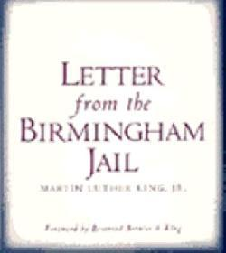 letter from the birmingham jail by martin luther king jr  203899
