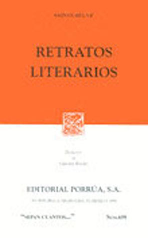 Retratos Literarios (Sepan Cuantos, #659)