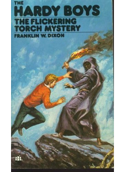 The Flickering Torch Mystery (Hardy Boys, #22)