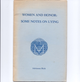 Women and Honor: Some Notes on Lying