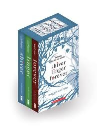 Shiver Linger pack by Maggie Stiefvater
