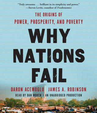Ebook Why Nations Fail: The Origins of Power, Prosperity, and Poverty by Daron Acemoğlu DOC!