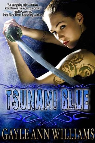 Tsunami Blue by Gayle Ann Williams