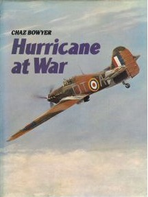 Hurricane at War by Chaz Bowyer
