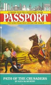 Path of the Crusaders (Choose Your Own Adventure: Passport, #4)