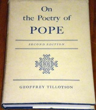 On The Poetry Of Pope