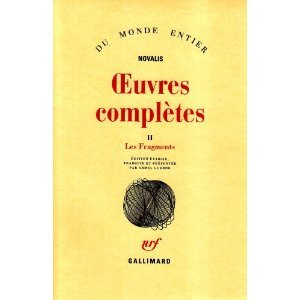 Oeuvres Complètes II: Les Fragments