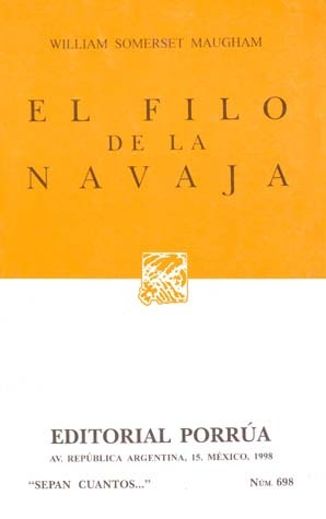 El Filo de la Navaja (Sepan Cuantos, #698)