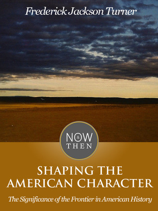 molding of the american character based on frederick jason turners book the significance of the fron Antec seminars will be held monday, april 27 the seminar is based on text from the new book blow molding designers guide jason.