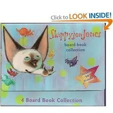 Skippy Jon Jones Collection (4 Board Book Collection, 1-2-3, Color Crazy, Shape Up, Up & Down)