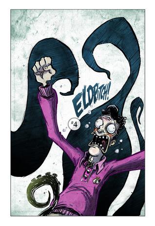 The Dream-Quest of Ted Newbarn (Eldritch!, #4)