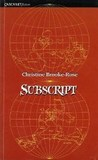 Subscript by Christine Brooke-Rose