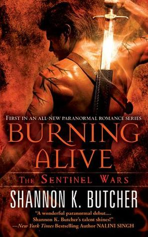 Book Review: Shannon K. Butcher's Burning Alive