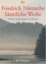 Sämtliche Werke, 15 Bde.: Kritische Studienausgabe in 15 Banden