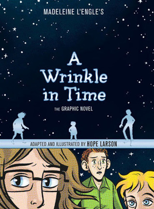 Image result for a wrinkle in time graphic novel goodreads