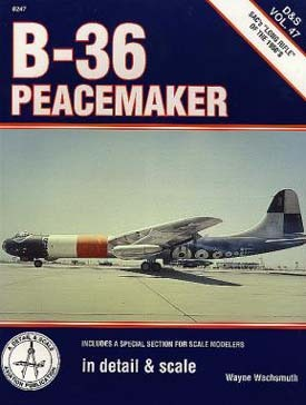 B-36 Peacemaker in Detail & Scale
