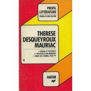 """Therese Desqueyroux """