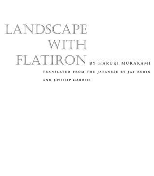 Landscape with Flatiron