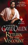 Return of the Viscount (Brides of Redemption, #1)