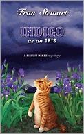 Indigo as an Iris by Fran Stewart